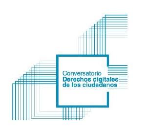 Conversatorio Derechos Digitales de los ciudadanos