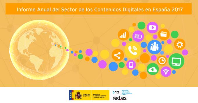 Informe anual del sector de los Contenidos Digitales en España (Edición 2017)