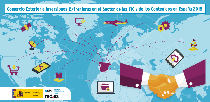 Comercio Exterior e Inversiones Extranjeras del sector TICC 2018