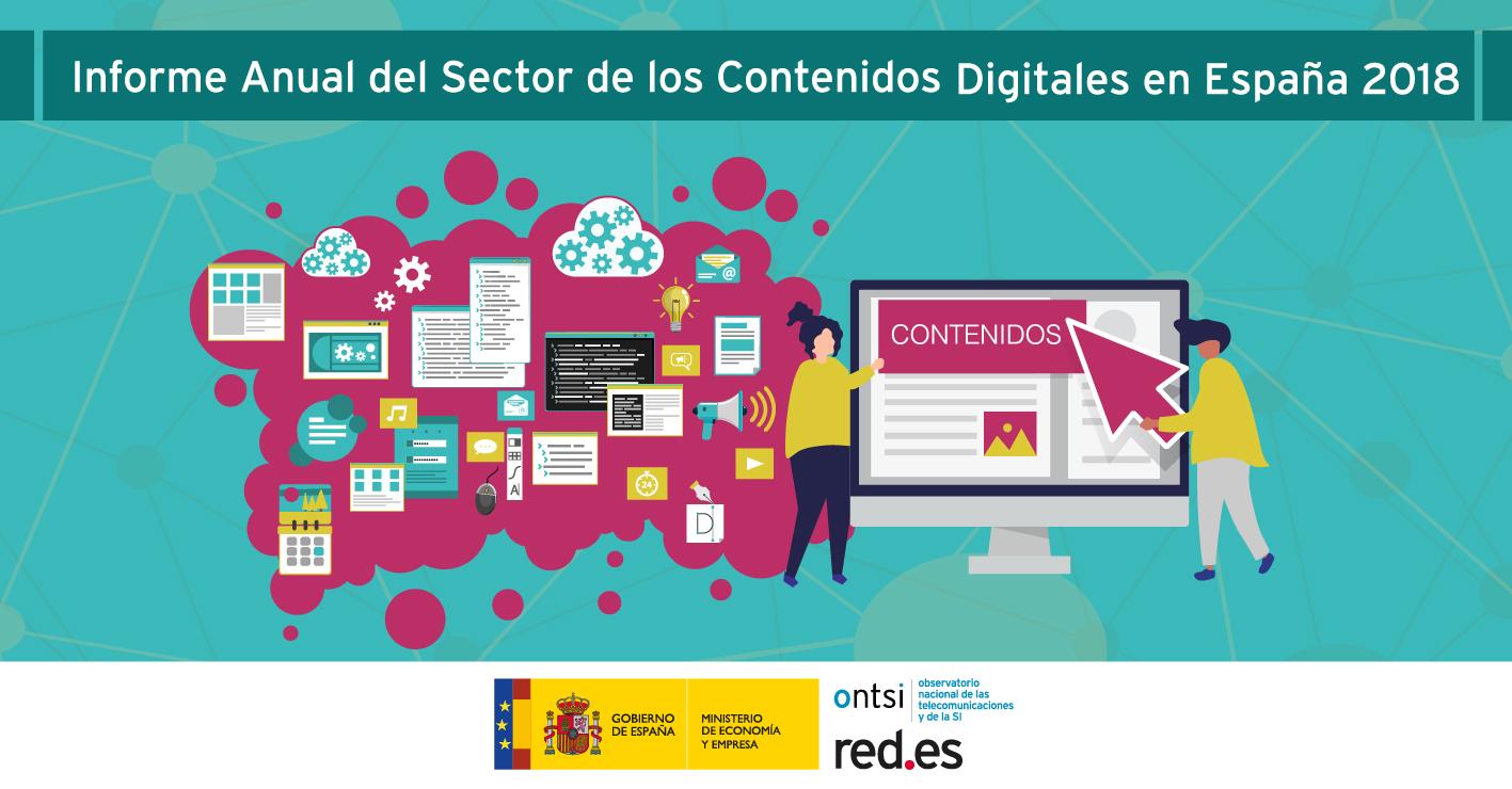 Informe anual del sector de los Contenidos Digitales en España (Edición 2018)