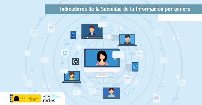 Indicadores de la Sociedad de la Información por género (marzo 2018)