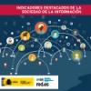 Indicadores destacados de la Sociedad de la Información en España (enero 2018)